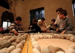 1. children workshop, stone, art festival, wanggaard, mantova